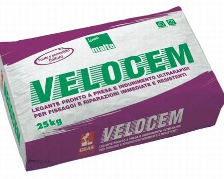 """""""Velocem"""": nuovo legante pronto a presa rapida di Gras Calce"""