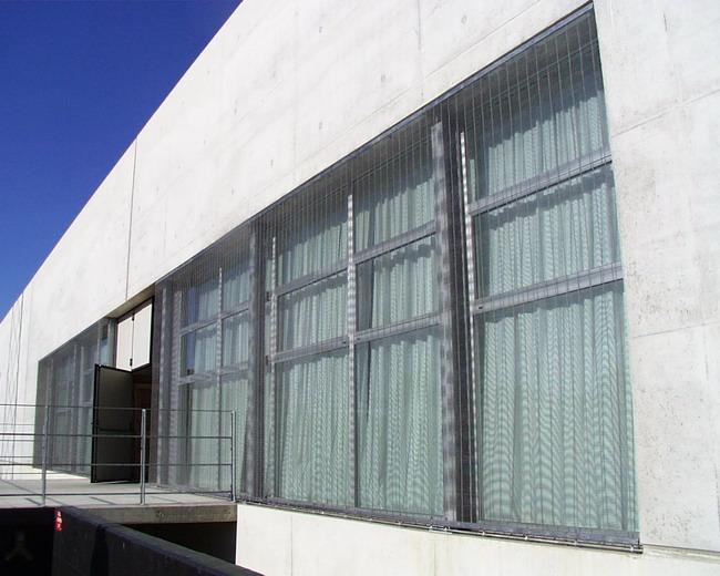 Archi net le maglie metalliche in architettura for B b novedrate