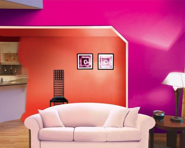 Tintal colori intensi per arredi speciali for Pittura per interni colori