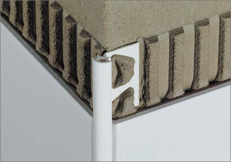 Profili decorativi di chiusura - Listelli decorativi per bagno ...