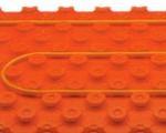 Sistema innovativo di riscaldamento a pavimento a basso spessore