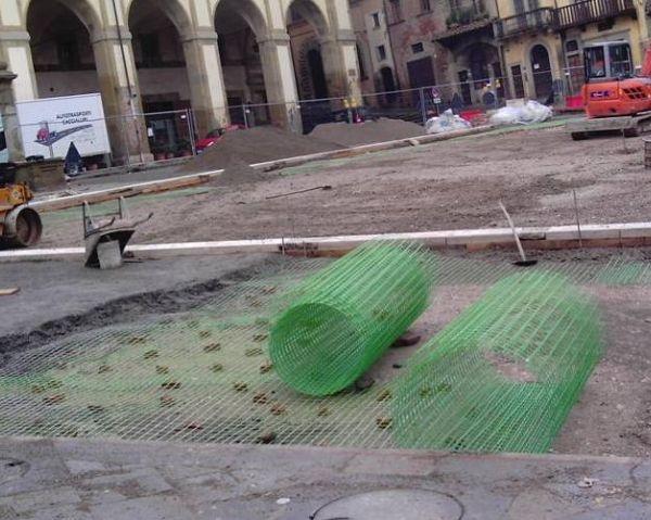 Fibre Net e il consolidamento di Piazza Grande ad Arezzo