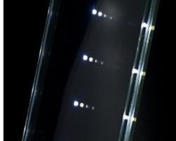 Pannelli in vetro laminato con Led