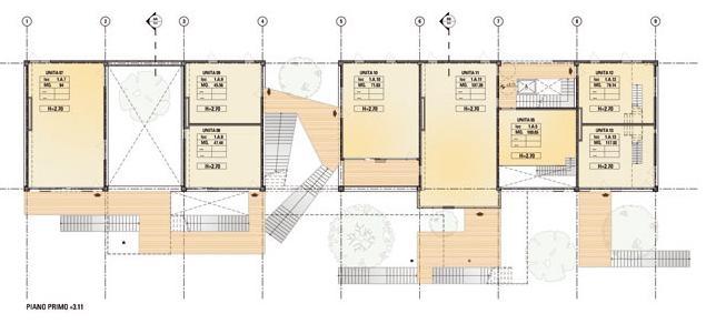 Casa da 100 k sostenibilit nell architettura for Pianta dell appartamento di 600 piedi quadrati