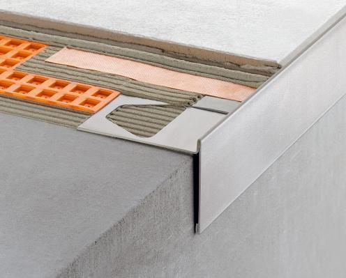 Intonaco termoisolante piastrelle per balconi con gocciolatoio