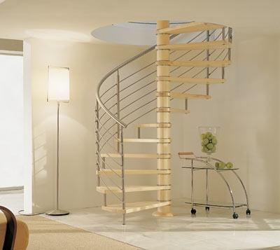 Scale a chiocciola in legno massiccio o metallo - Scale a chiocciola bari ...