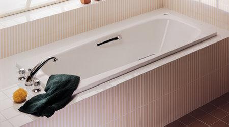 Vasche in acciaio - Vasche da bagno a incasso ...