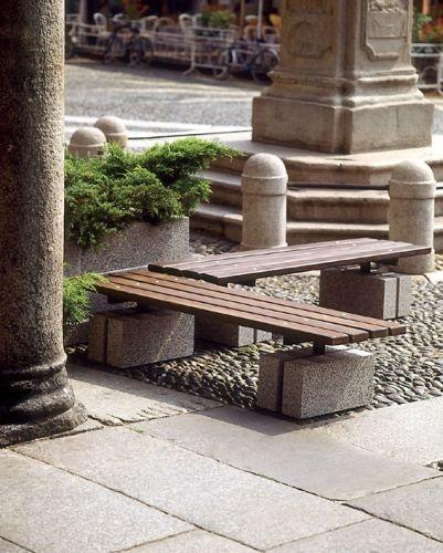 Serieuutopia linea di arredo urbano e giardini in for Arredo giardino in cemento