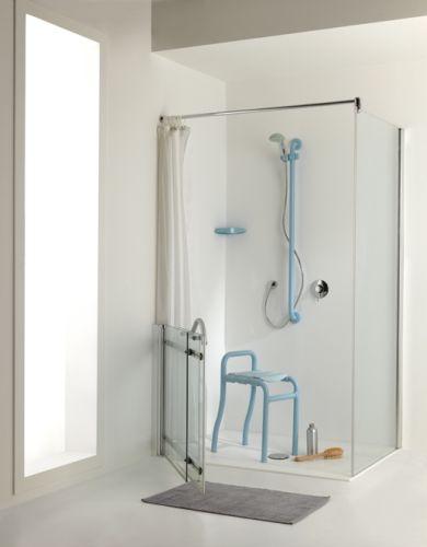 Maniglioni doccia per disabili raccordi tubi innocenti - Doccia con tubi esterni ...