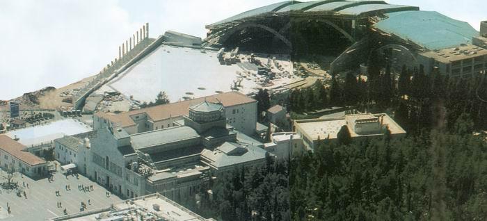 Foto 1. Veduta d'insieme del complesso religioso di S. Giovanni Rotondo