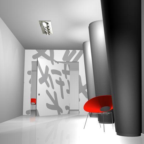 L 39 invisibile a bilico verticale - L invisibile porte a scomparsa ...