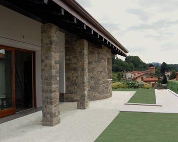 Roefix Corktherm per la Villa monofamiliare a Calco