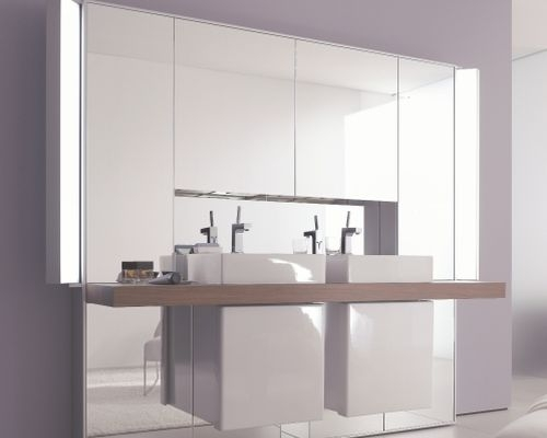 mirrorwall di Duravit: luce e design
