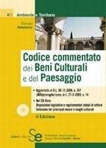 Codice commentato dei Beni Culturali e del Paesaggio