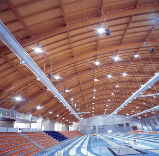 Habitat Legno realizza l'Impianto di Atletica Indoor ad Ancona