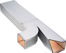 Pannelli in alluminio preisolati con poliuretano espanso rigido