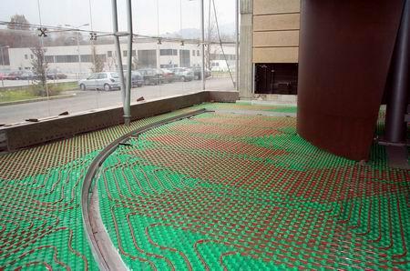 Riscaldamento a soffitto e pavimento