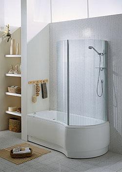 Ricerche correlate a Vasca con box doccia ideal standard