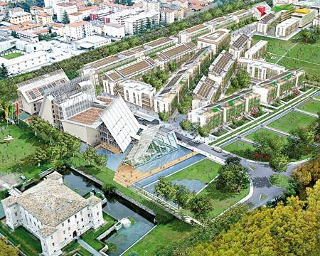 Polo Museale, residenze, attività commerciali, uffici e imprese