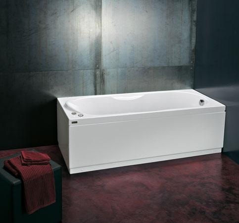 Vasche da bagno rettangolari e angolari con idromassaggio - Vasche da bagno incasso ...