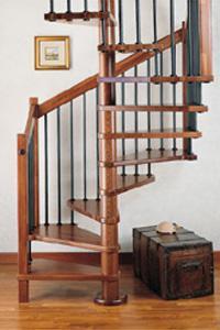 Scale a chiocciola su misura in acciaio e legno - Scale a chiocciola in legno prezzi ...