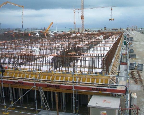 Marine Concrete di Calcestruzzi per il Mose di Venezia