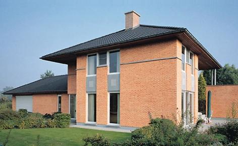 Case con mattoni faccia vista frusta per impastare cemento for Case di mattoni facciate