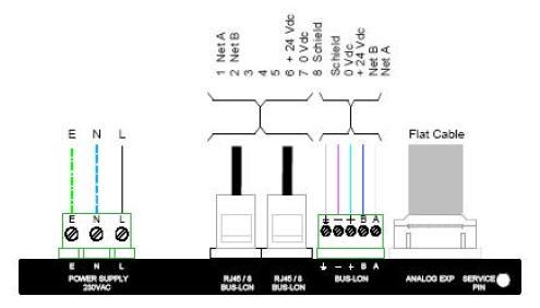 MODULO BA-8O: gestione luci