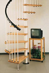 Scale a chiocciola su misura in acciaio e legno - Scale a chiocciola bari ...