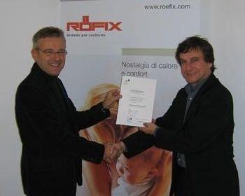 RÖFIX SpA ottiene il riconoscimento ufficiale di Partner CasaClima