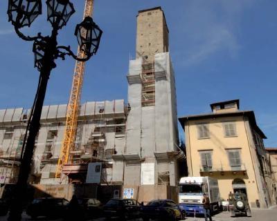 Salvata la Torre Civica di Città di Castello con la tecnologia Deep  Injections