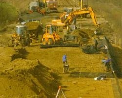 Allargamento della Linea delle Ferrovie Tedesche con geogriglie Fortrac®