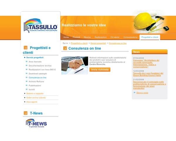 www.tassullo.com: consulenza tecnica on-line