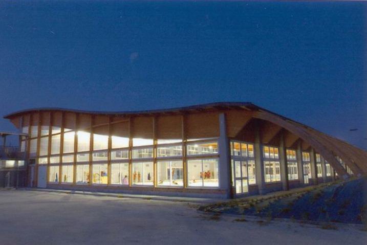 Il centro natatorio di Fossano realizzato da Habitat Legno