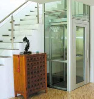 Domuslift elevatore per la mobilit verticale di igv - Montacarichi da casa ...