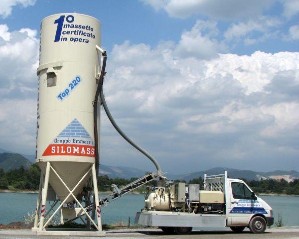Il nuovo modo di produrre massetti: il sistema SILOMASS®