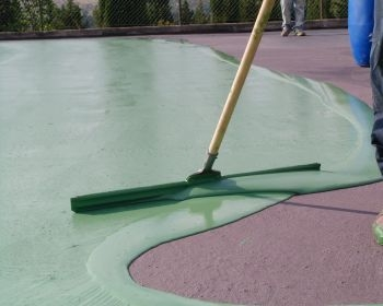 Pittura Per Cemento : Linea campi sportivi