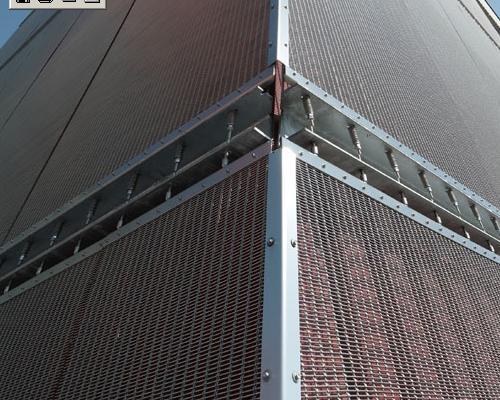 Tessuti metallici in architettura