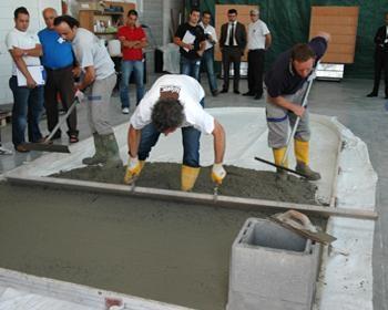 Calcestruzzo Stampato Palermo : Pavimenti in cls stampato ideal work formazione e assistenza agli
