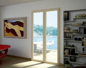 Isol Wood, finestre in PVC e vero legno