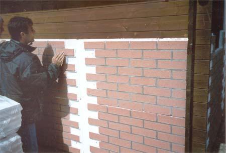 ... dei pannelli nelle immagini esempi di applicazioni su muro e su legno