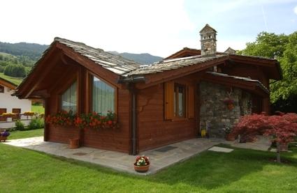 Case in legno blockhaus for Permessi per case in legno