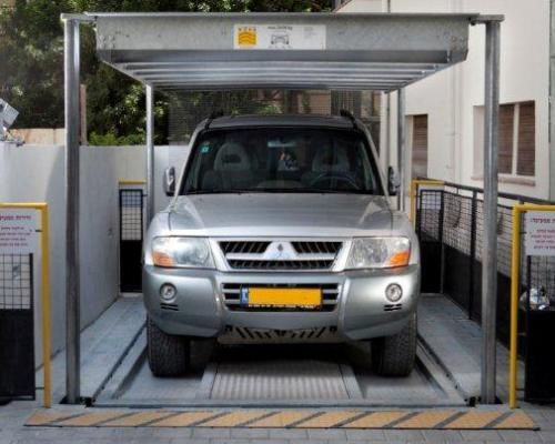 Il sistema di parcheggio più compatto al mondo