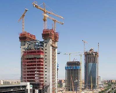 Grattacieli Cuatro Torres, Madrid, Spagna
