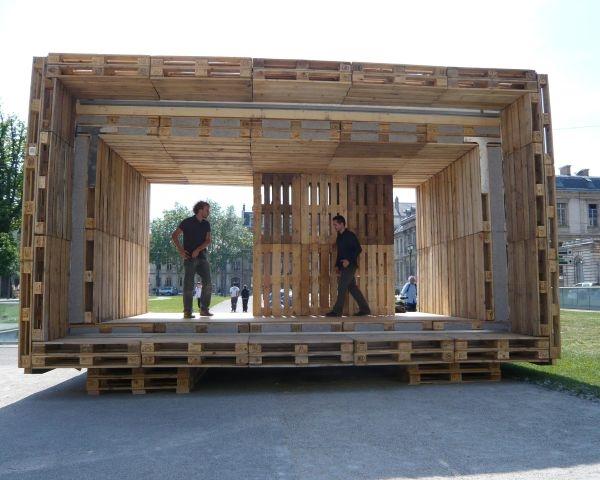 """""""Pallettenhause"""": architettura ecostenibile e a basso costo"""