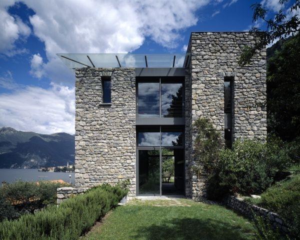 La casa di pietra for Casa in pietra moderna