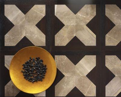 Legno e ceramica, legno e marmo