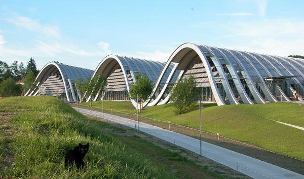 Inaugurazione a Berna del nuovo museo di Paul Klee progettato da Renzo Piano