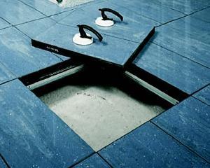 Il gres porcellanato come materiale di finitura nei pavimenti sopraelevati