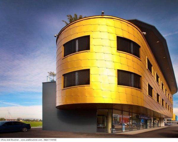 Scaglie d'oro rivestono Salisburgo